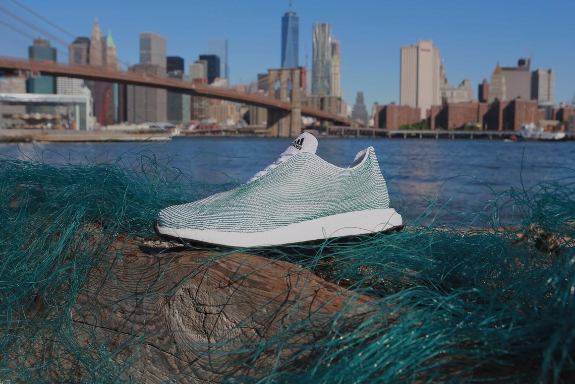 Adidas is using ocean trash to make footwear