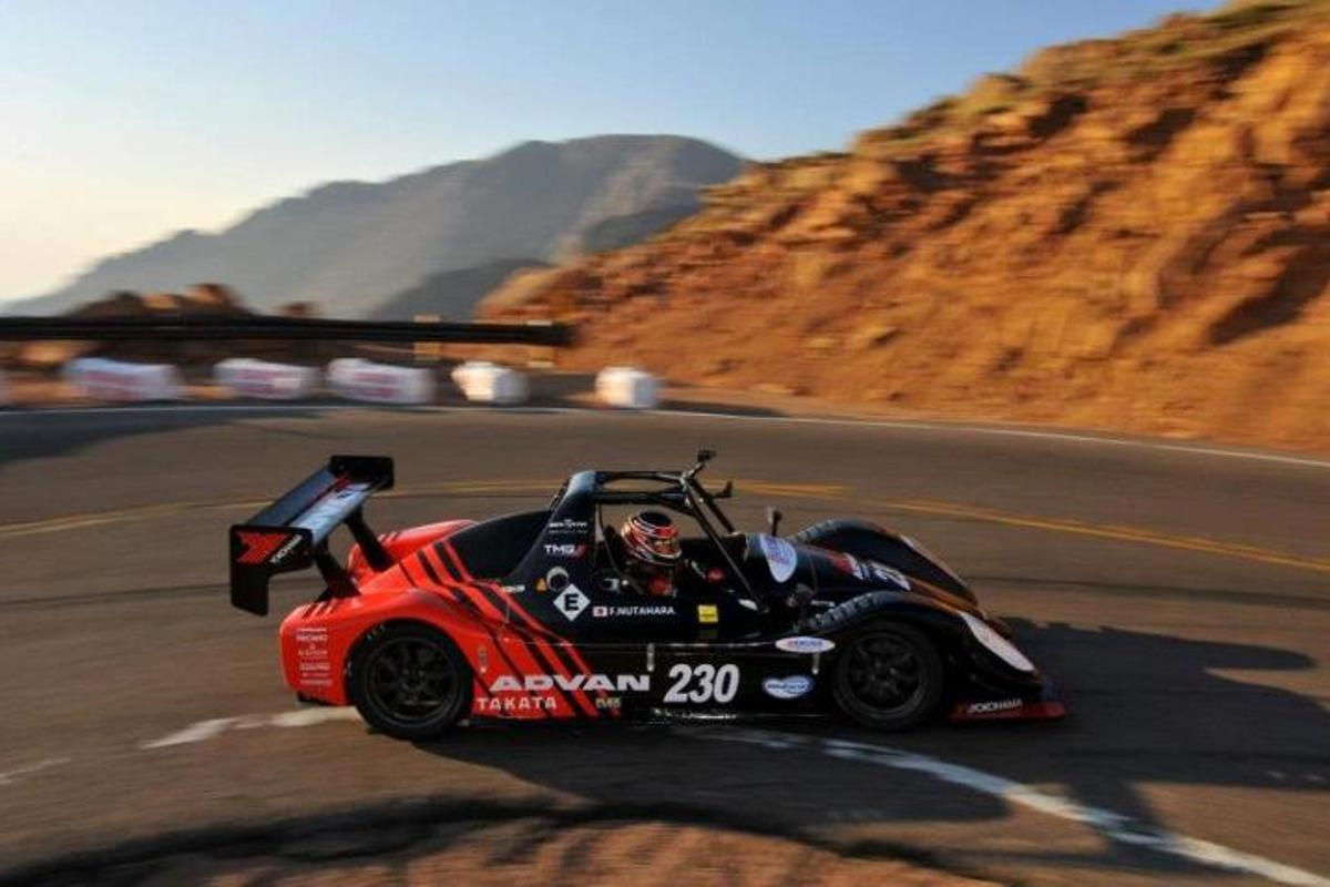 Fumio Nutahara set a record time among electric vehicles
