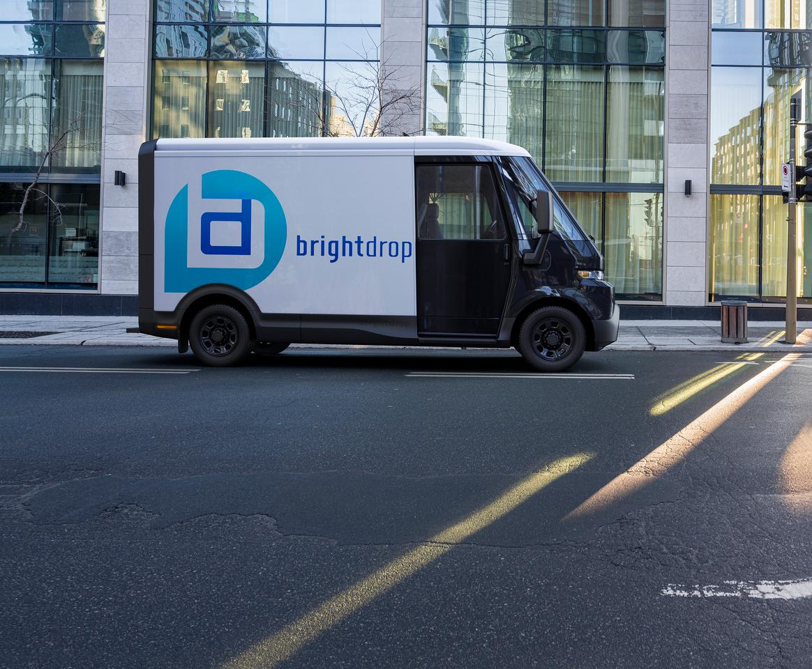 BrightDrop gets to work on its next project: its midsize EV410 electric delivery vehicle