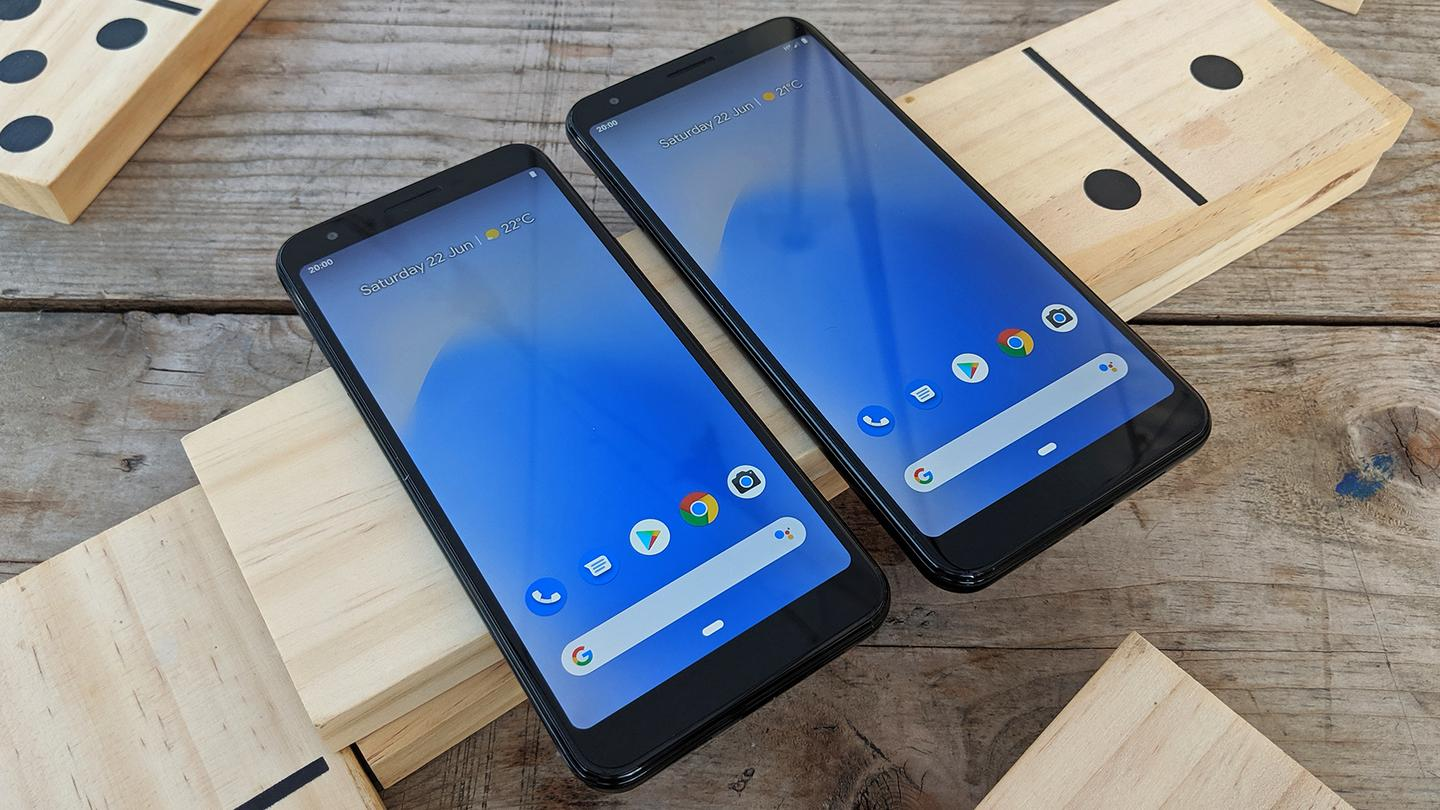 The Pixel 3a and Pixel 3a XL arrive with slightly different screen sizes but matching internal components