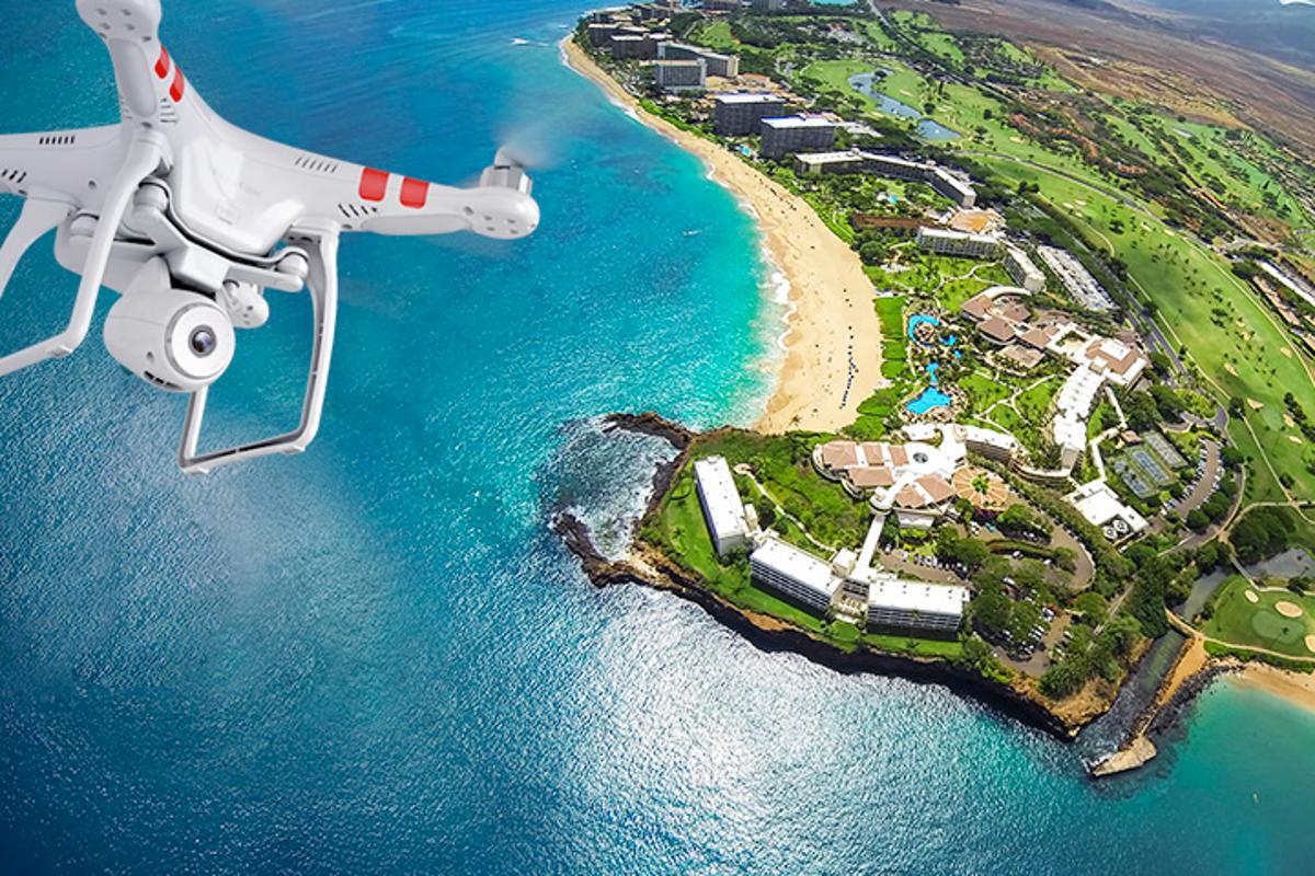 DJI Innovations' new Phantom 2 Vision quadcopter