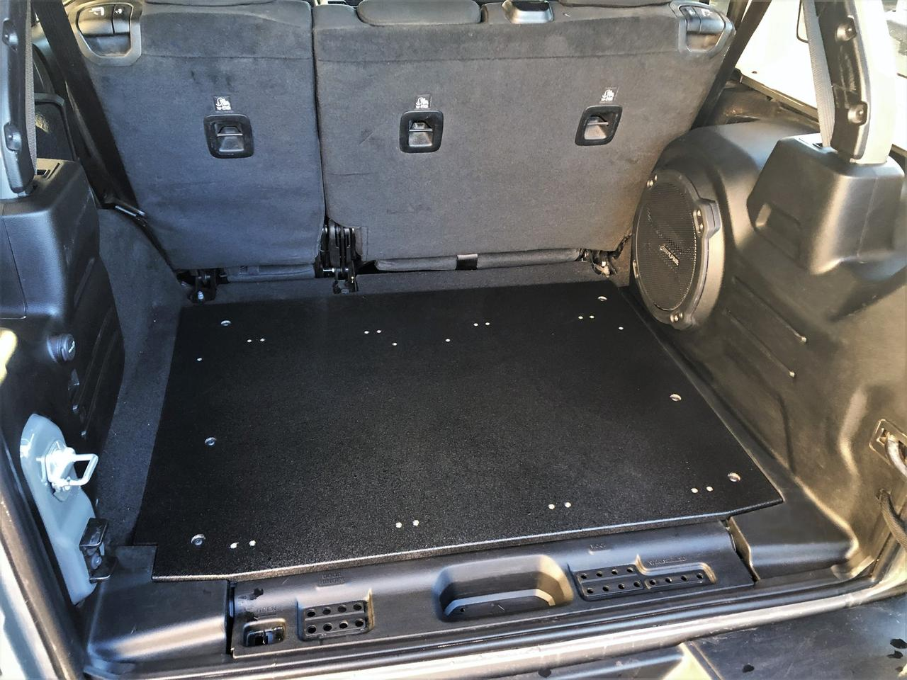 DirtBox has designed its initial base plates specifically for Wrangler JKU and JLU models; additional vehicle models will be supported in the future