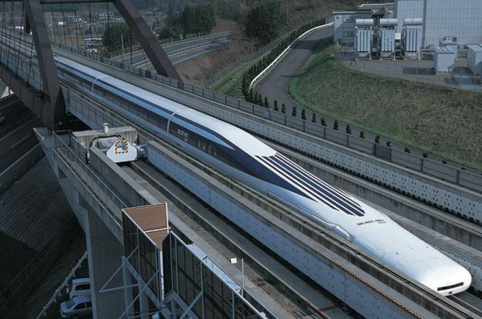 The experimental Shinkansen maglev train topped 500 km/h (311 mph) with passengers onboard (Photo: Central Japan Railway Company)