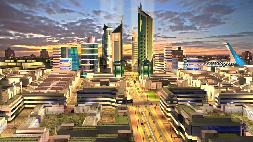 Konza Technology City is planned for completion around 2030
