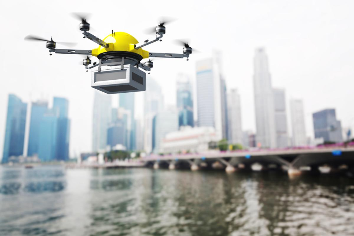 The FAA has announced new rules that streamline the application process for commercial drone flight (Photo: Shutterstock)