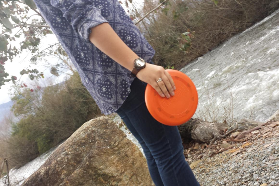 It looks like a simple frisbee, but it's much more
