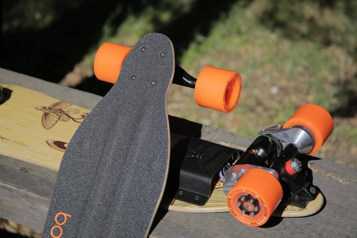 The Boosted Boards skateboard