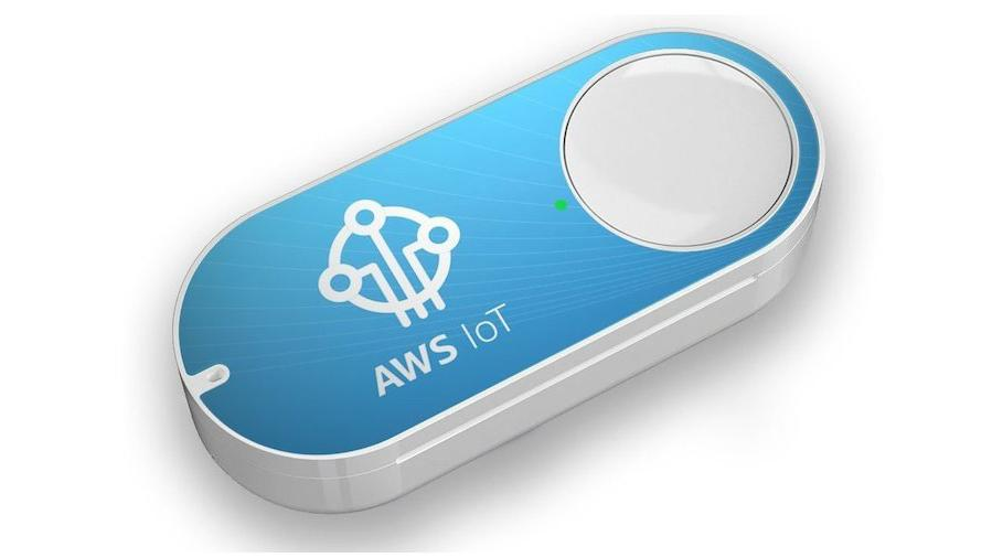 Amazon's new AWS IoT Button is a customizable version of the Dash Button, allowing developers to program their own functions into the device