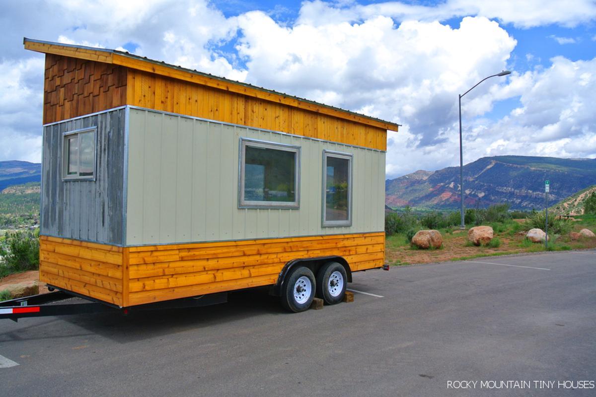 The Front Range tiny house, by Colorado-based Rocky Mountain Tiny Houses