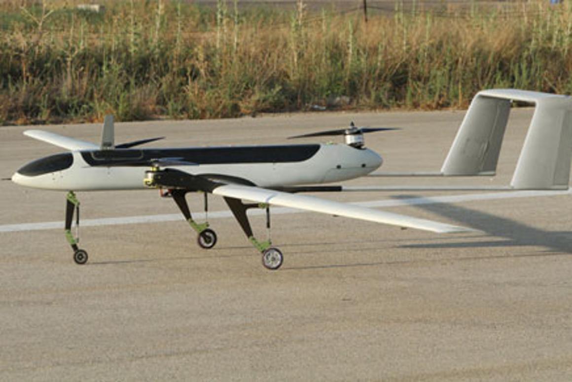 The tilt-rotor Panther UAV