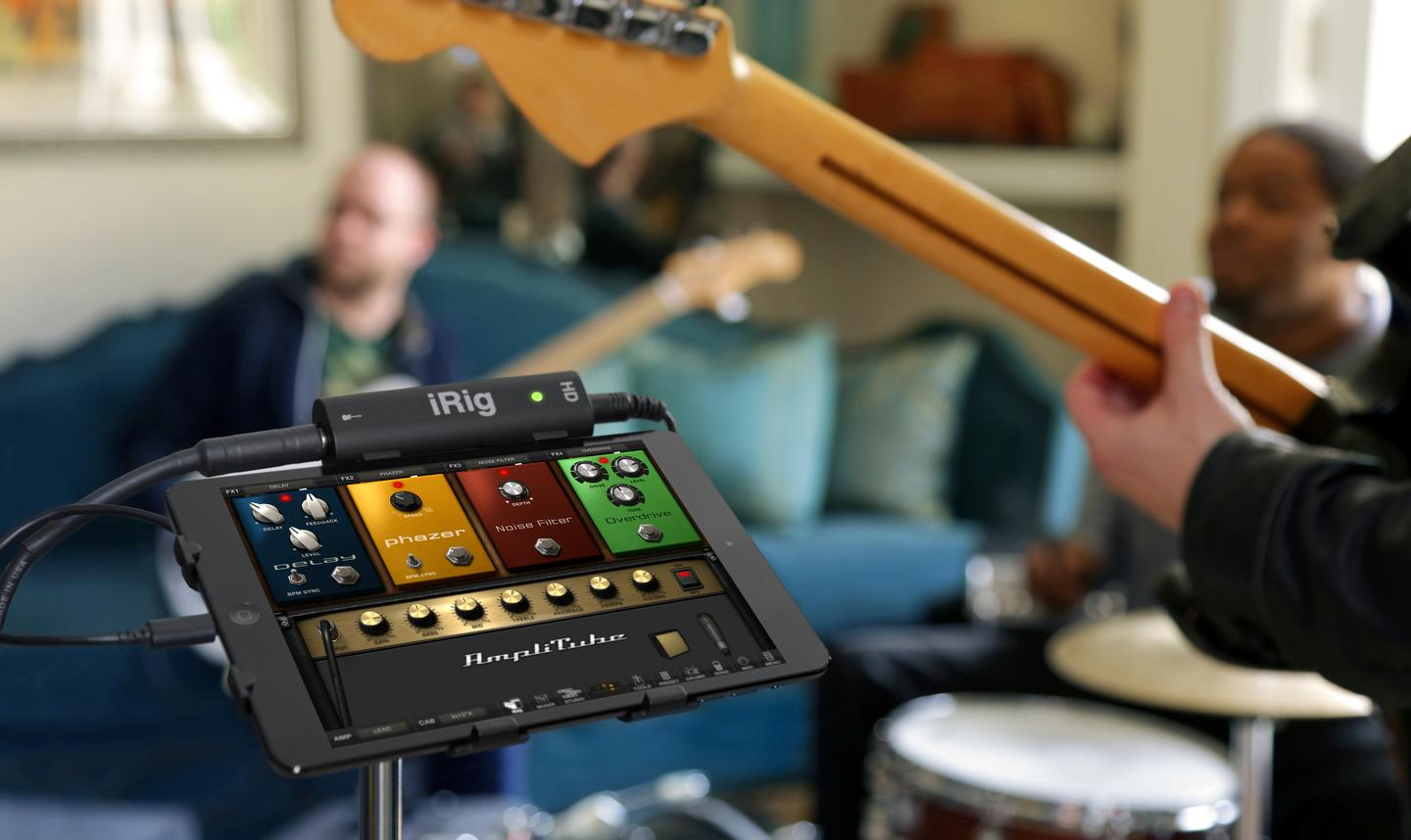 The compact and slim iRig HD offers players studio-quality digital sound