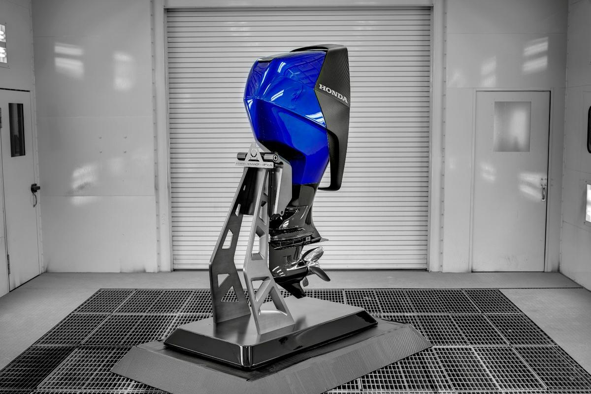 Honda's 2017 concept marine engine
