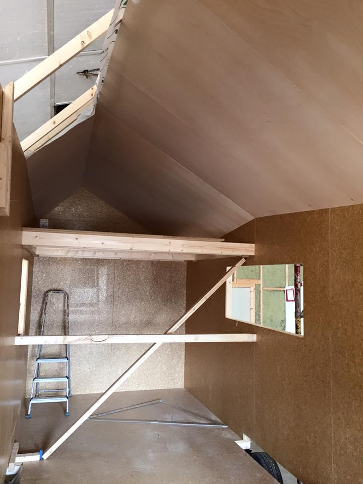 Building the tiny house