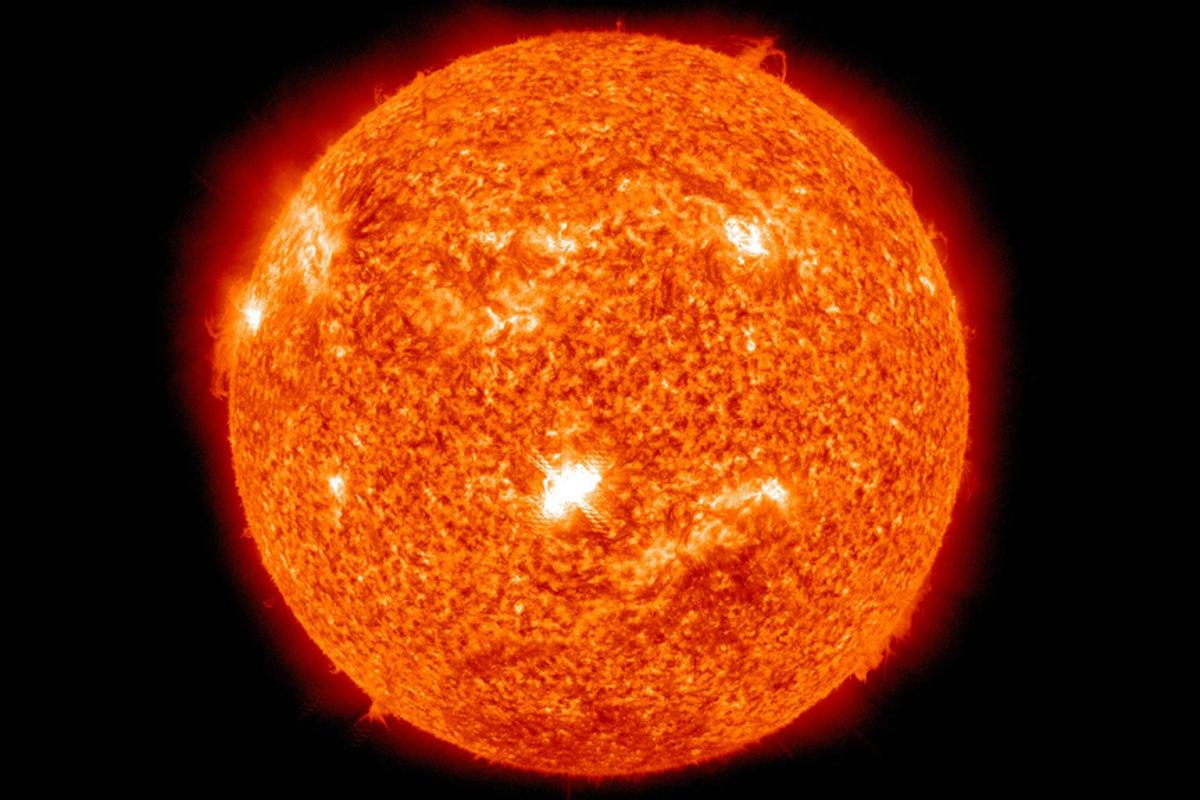 Fusion power would allow electricty to be generated using the same processes taking place in the Sun (Photo: NASA)