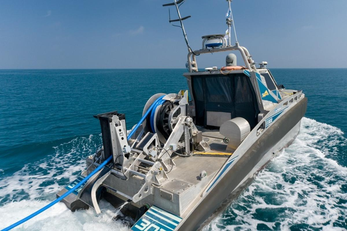 The Seagull USV proved its anti-submarine chops in sea trials in October 2019