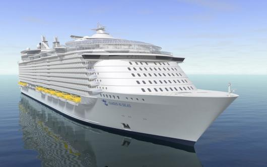 Oasis of the seas is the largest and most revolutionary cruise ship in the world