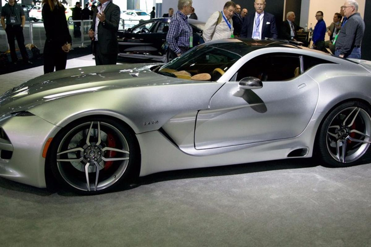 VLF Automotive reveals the Force 1 V10 at NAIAS 2016