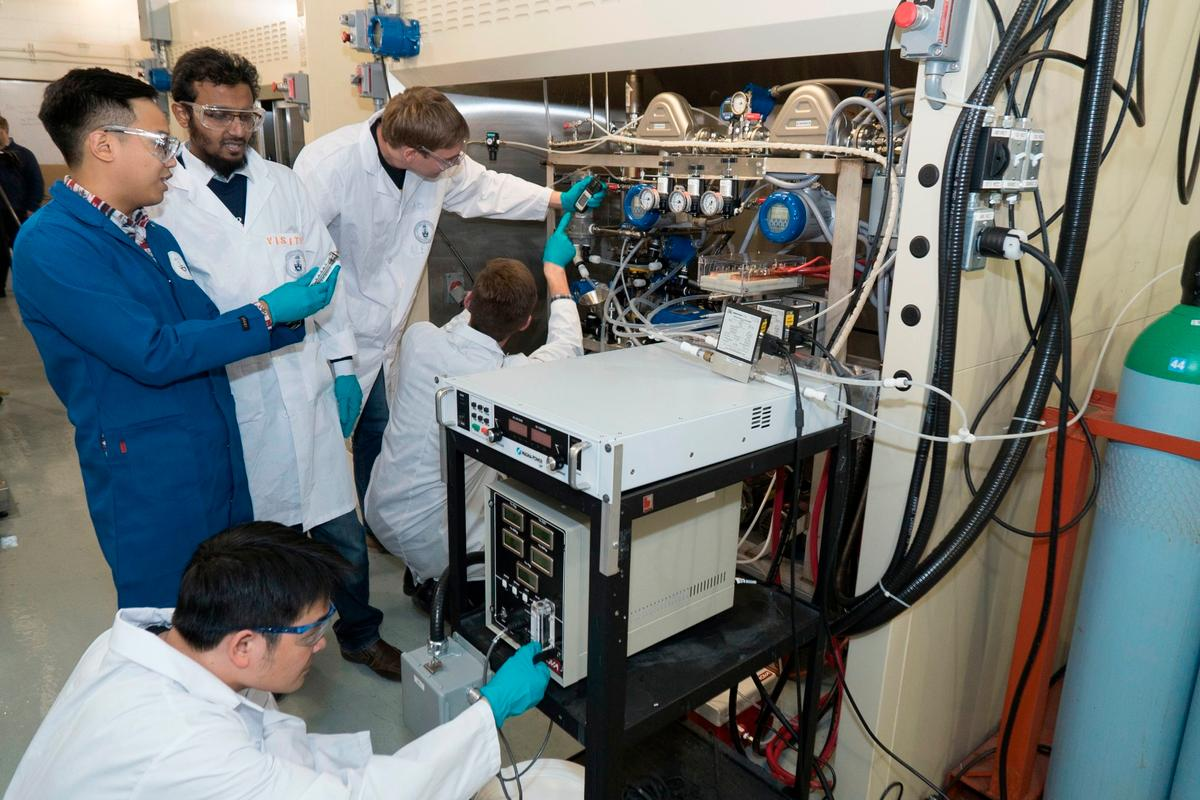 XPrize finalist CERT from Toronto, Canada, is creating new building blocks for industrial chemicals using C02