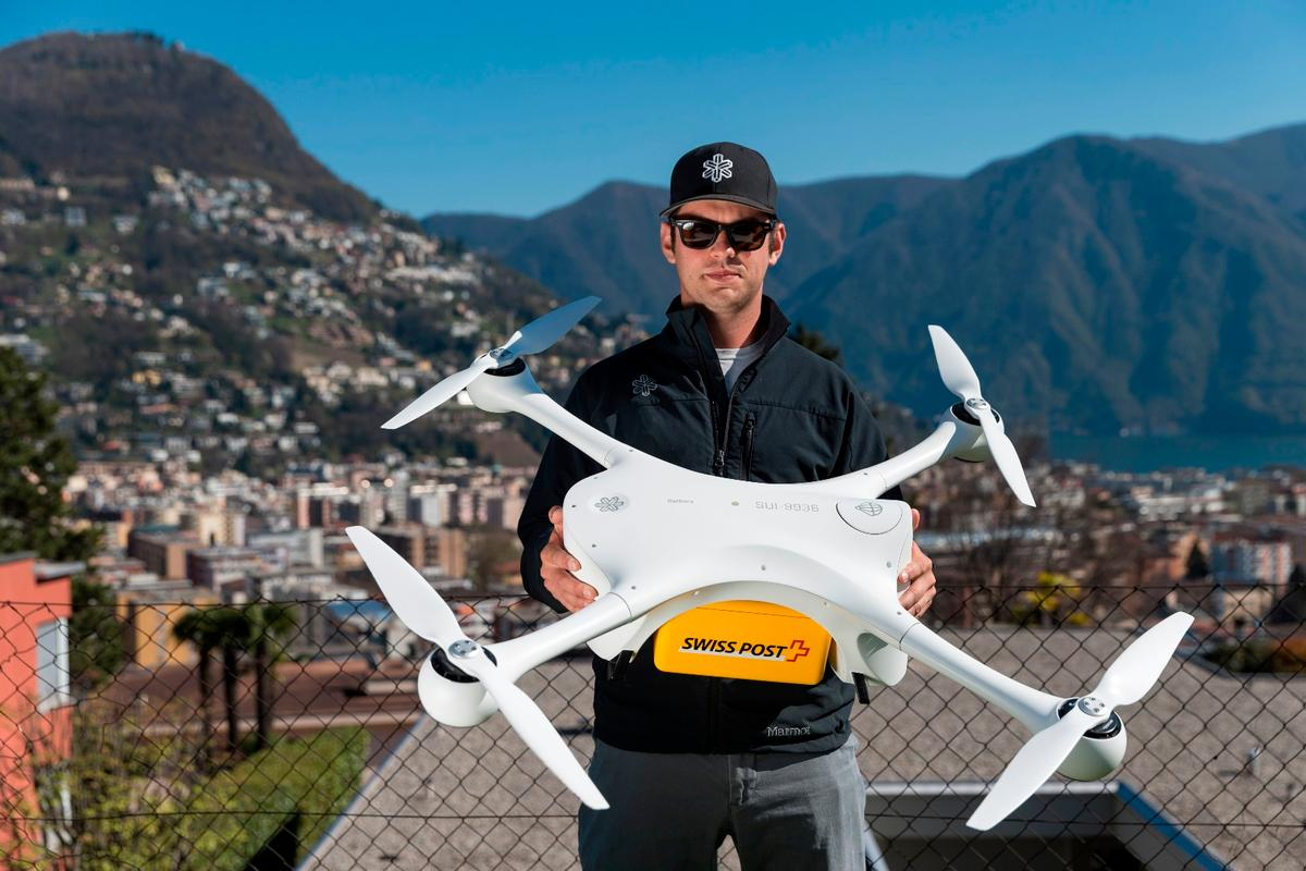 Swiss Post revealed last year that it had teamed up with California's Matternet to trial delivery drones