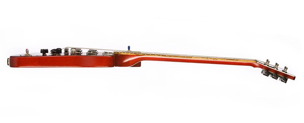 The lightweight Gibson Firebird X from the side
