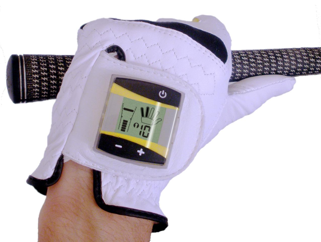 The SensoGlove digital golf glove