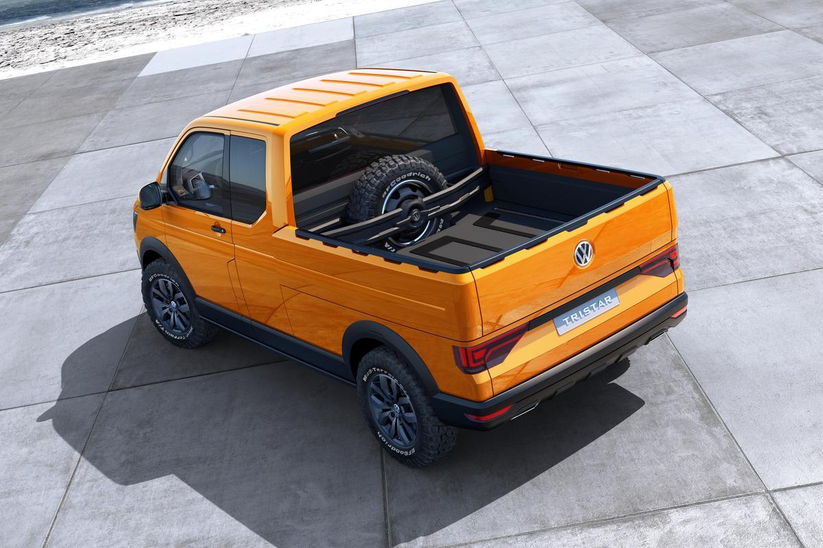 Volkswagen presents the Transporter-based TRISTAR pickup truck
