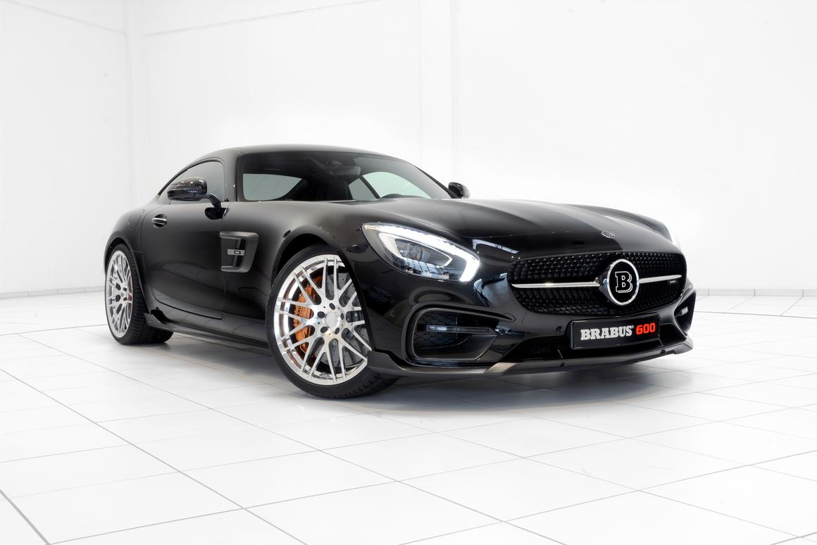 Brabus' engineers have developed a plug-and-play control module for the GT S that bumps peak power up to 600 hp