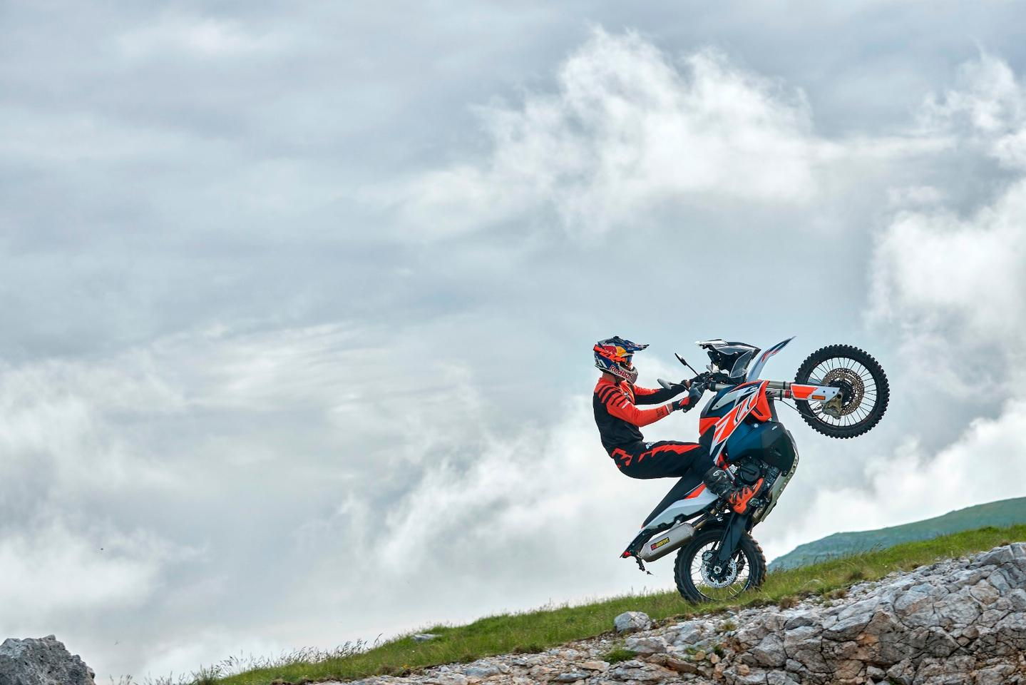 A new Rally version gives KTM fans something to wheelie about, as if they needed it