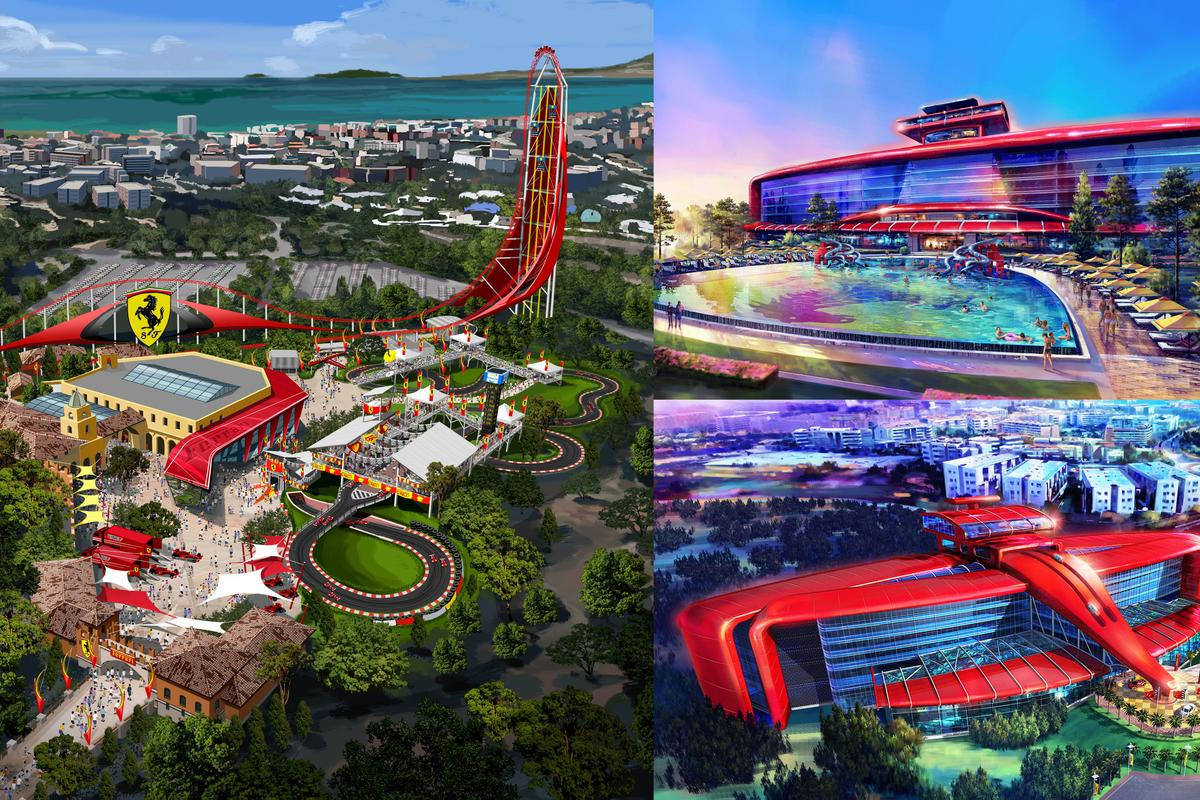 Ferrari Land is expected to open in 2016 inside the PortAventura theme park located outside Barcelona