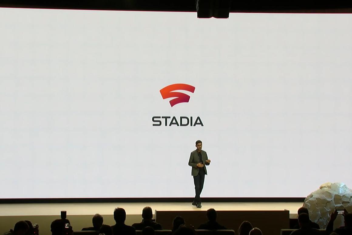 Google CEOSundar Pichai announcesStadia