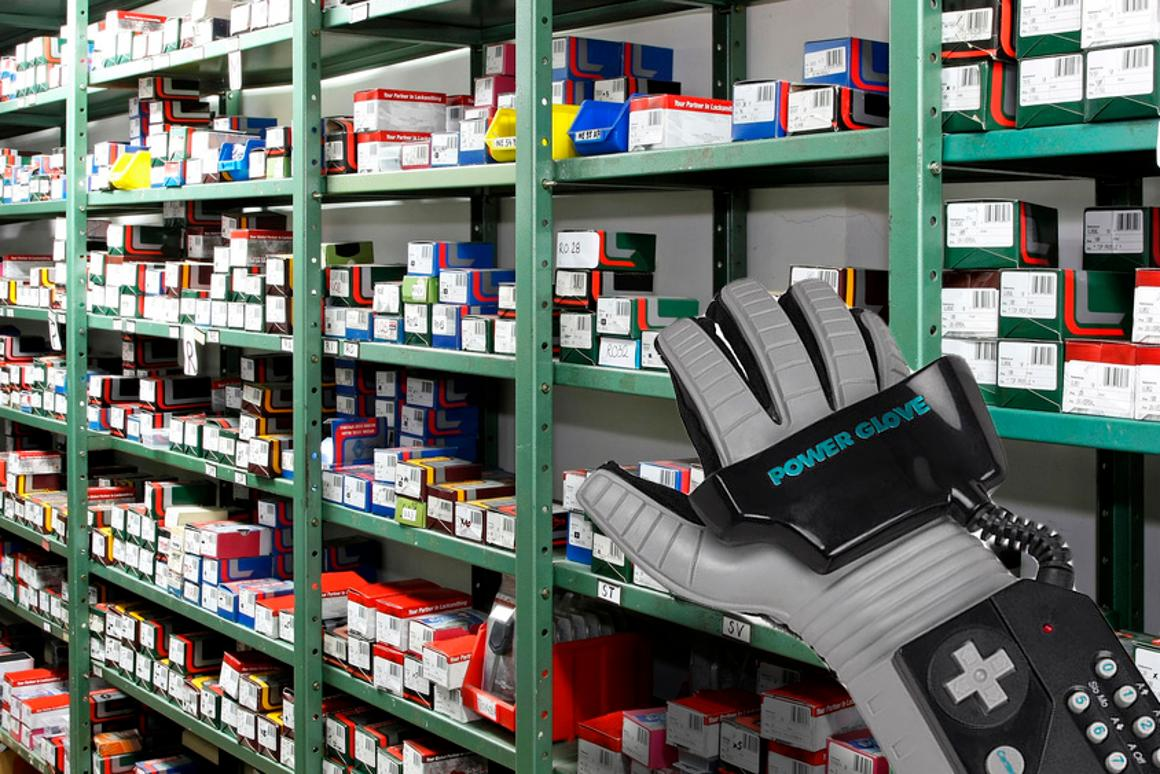 It looks nothing like the NES Power Glove, but we can dream, right? (shelf: Shutterstock)