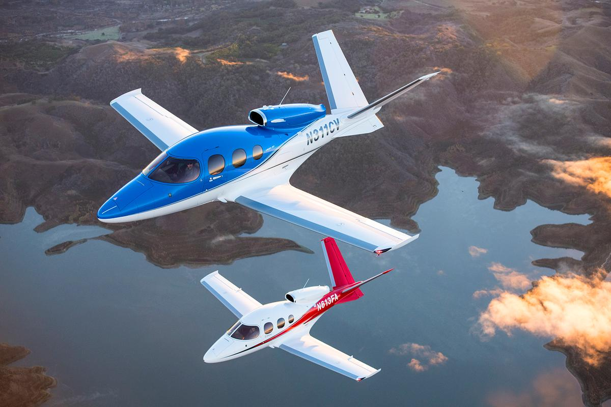 The Vision G2 business jet can now land itself in an emergency
