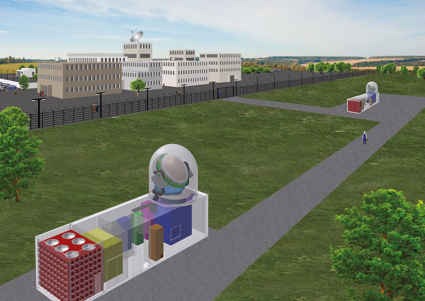 Due for completion in 2018, the GESTRA project is designed to monitor and track objects in low-Earth orbit