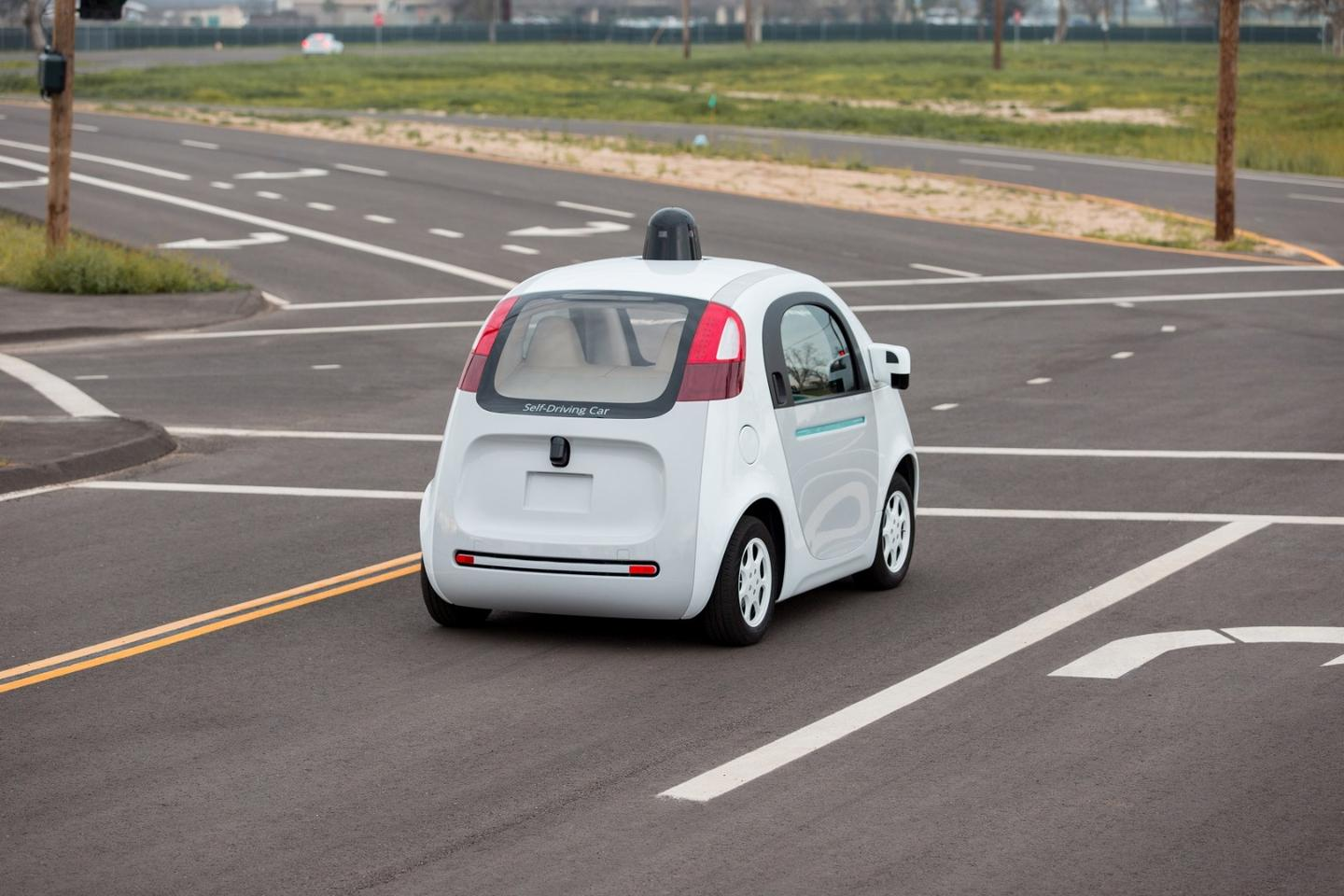 Cars designed to be completely driverless, like that being tested by Google, are to be initially excluded from being granted licenses