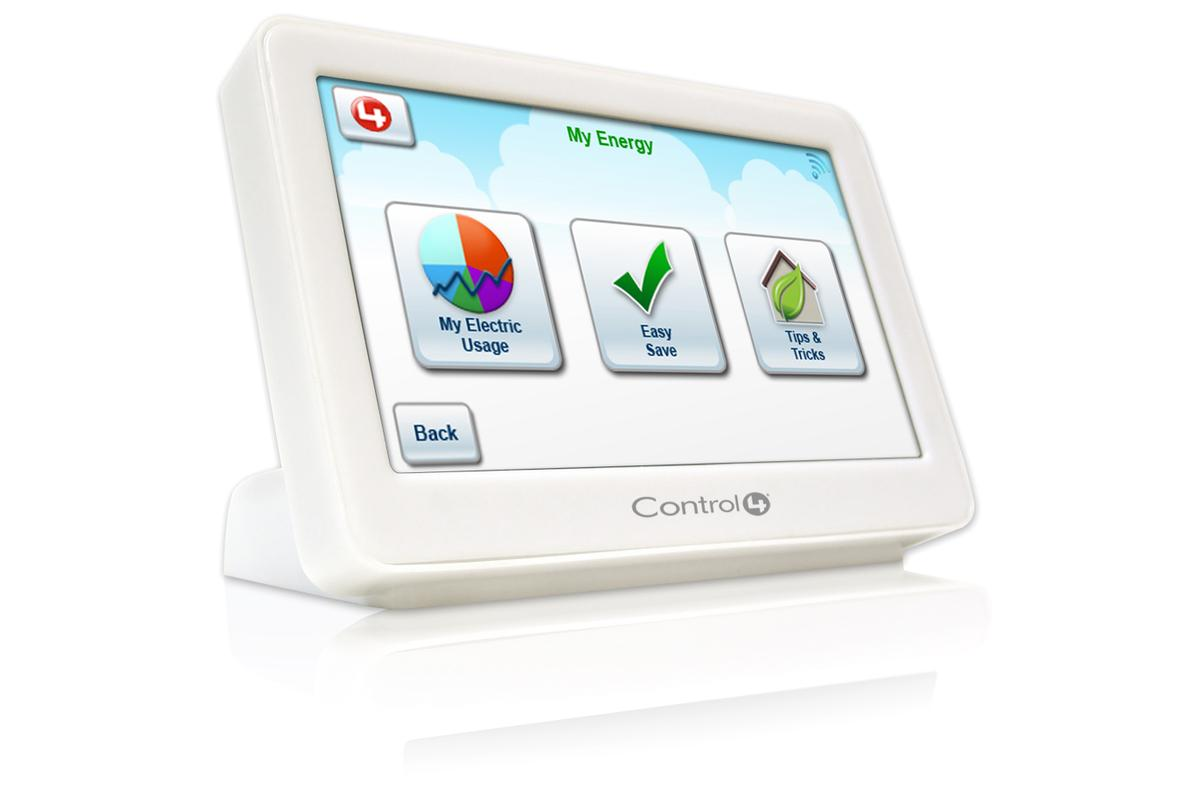 The Control4 EC-100 energy controller - part of the company's EMS 100 energy management system