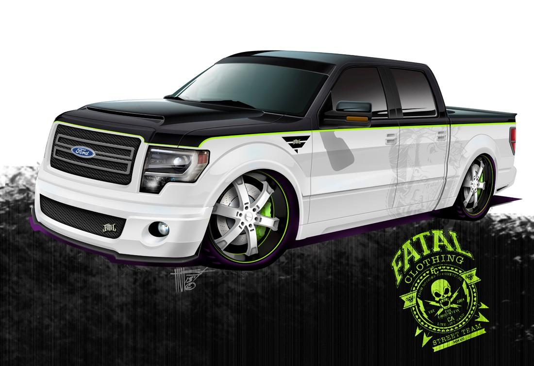 Fatal Clothing and Hulst Customs teamed up on this 650-hp F-150