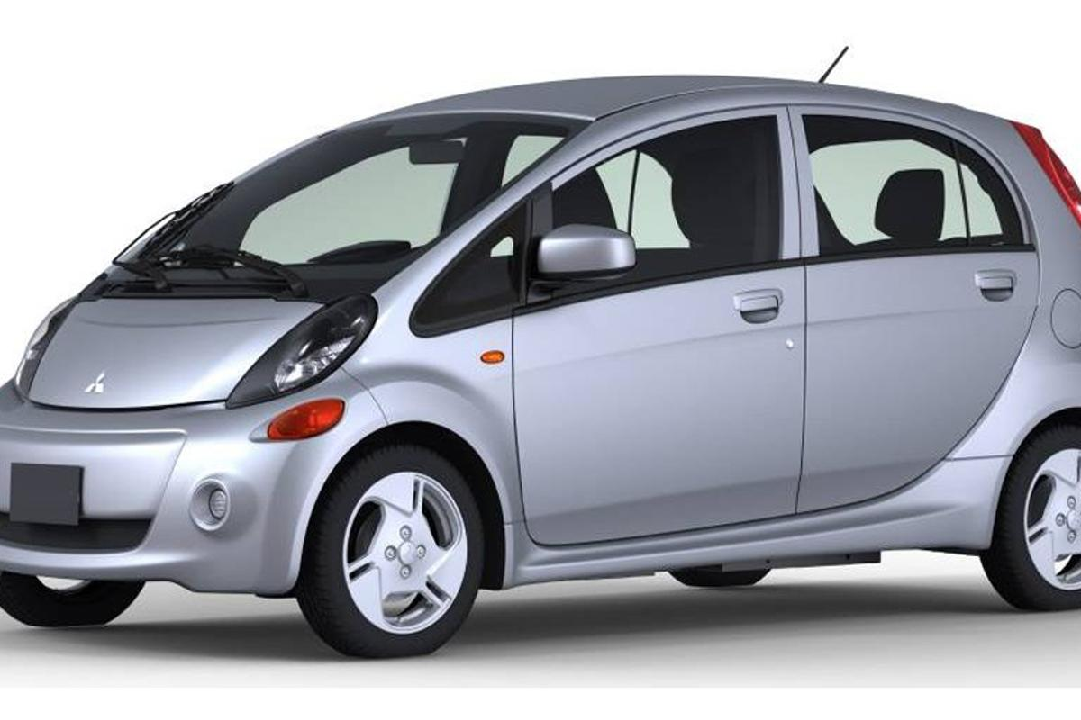 The North American-spec i-MiEV from Mitsubishi