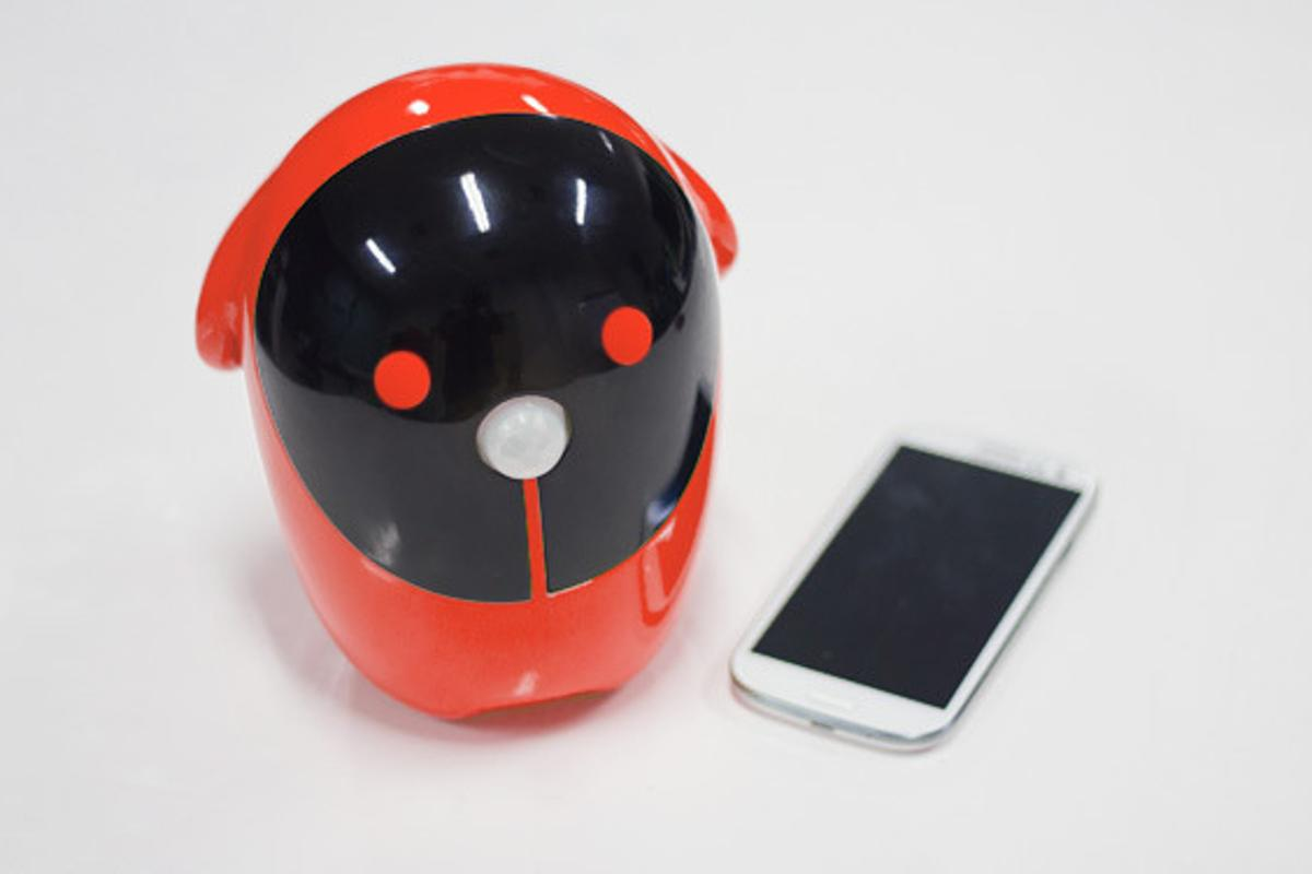 The Rico uses a spare smartphone as its brain and eyes