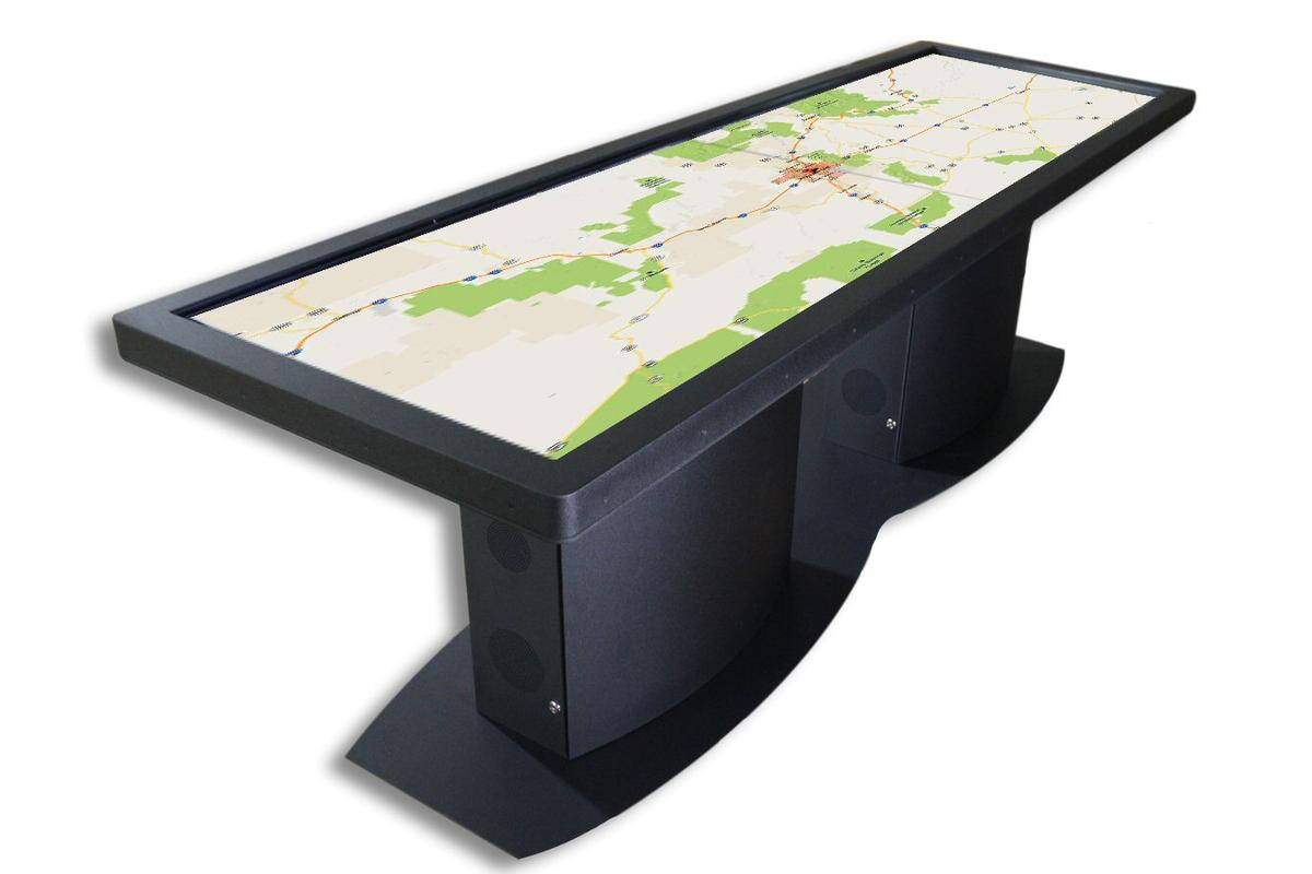 Ideum has added the 100-inch Pano Touch Table to its main catalog