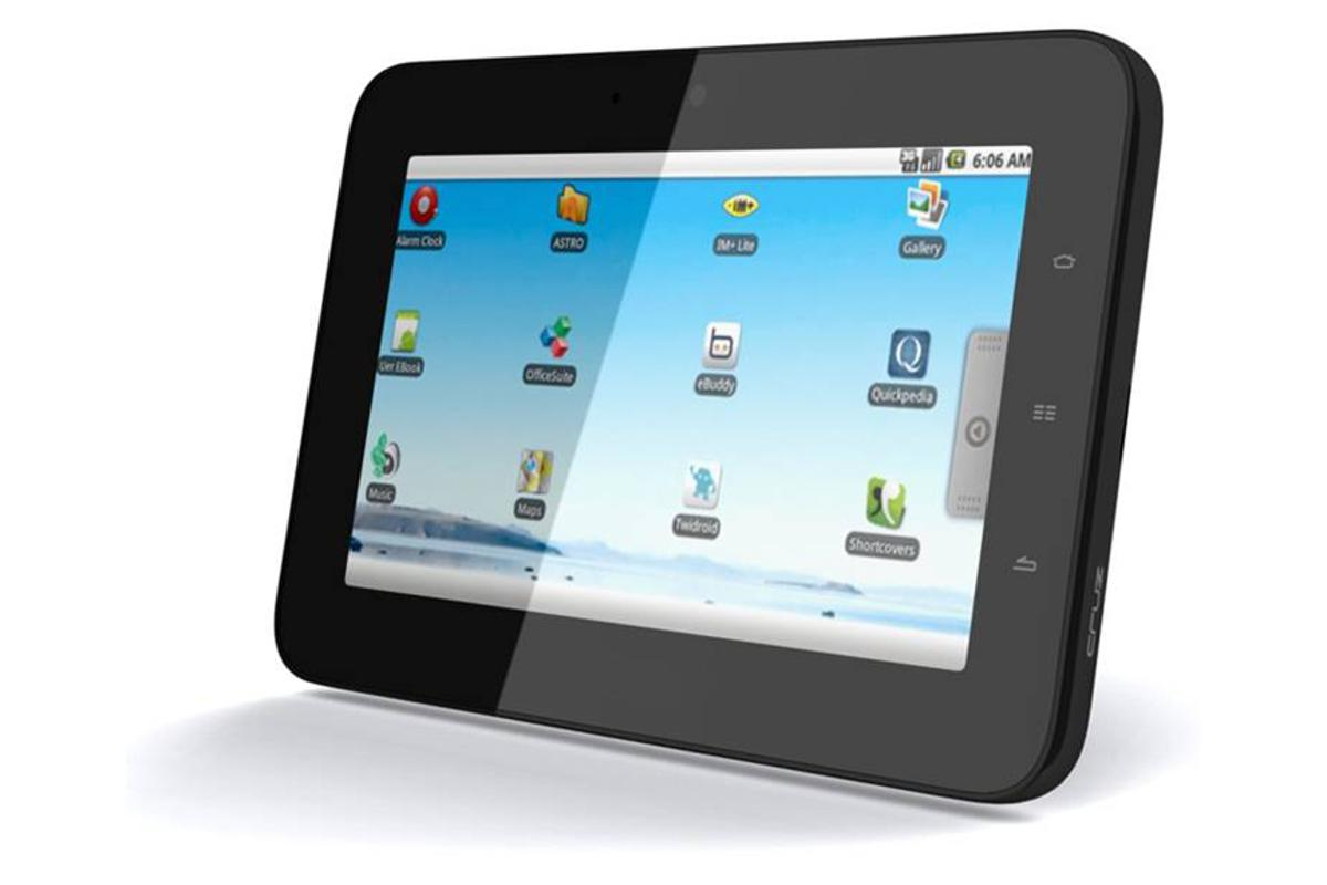 The tablet has 4GB of storage and fast 802.11n wireless connectivity
