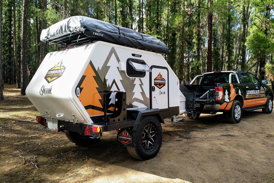 Lumberjack Sheoak camping trailer