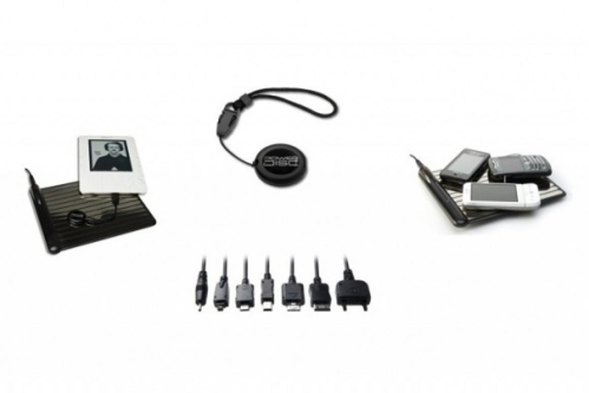 The new PowerDisc charging solution from WildCharge