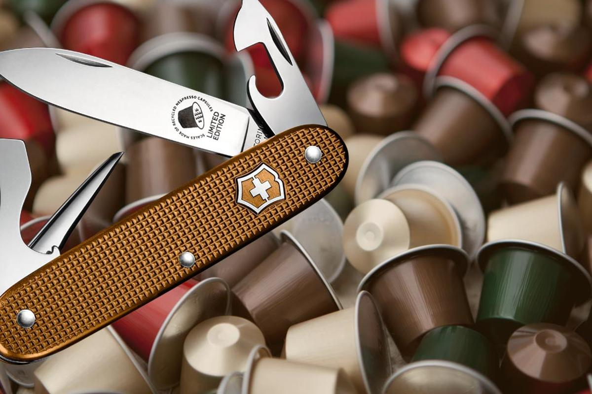 The knife is available for US$48 through Victorinox's website