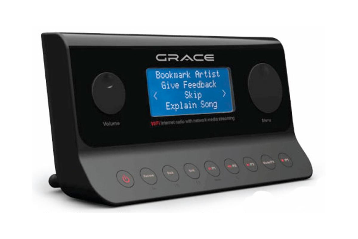 Grace Digital Solo Wi-Fi Internet radio