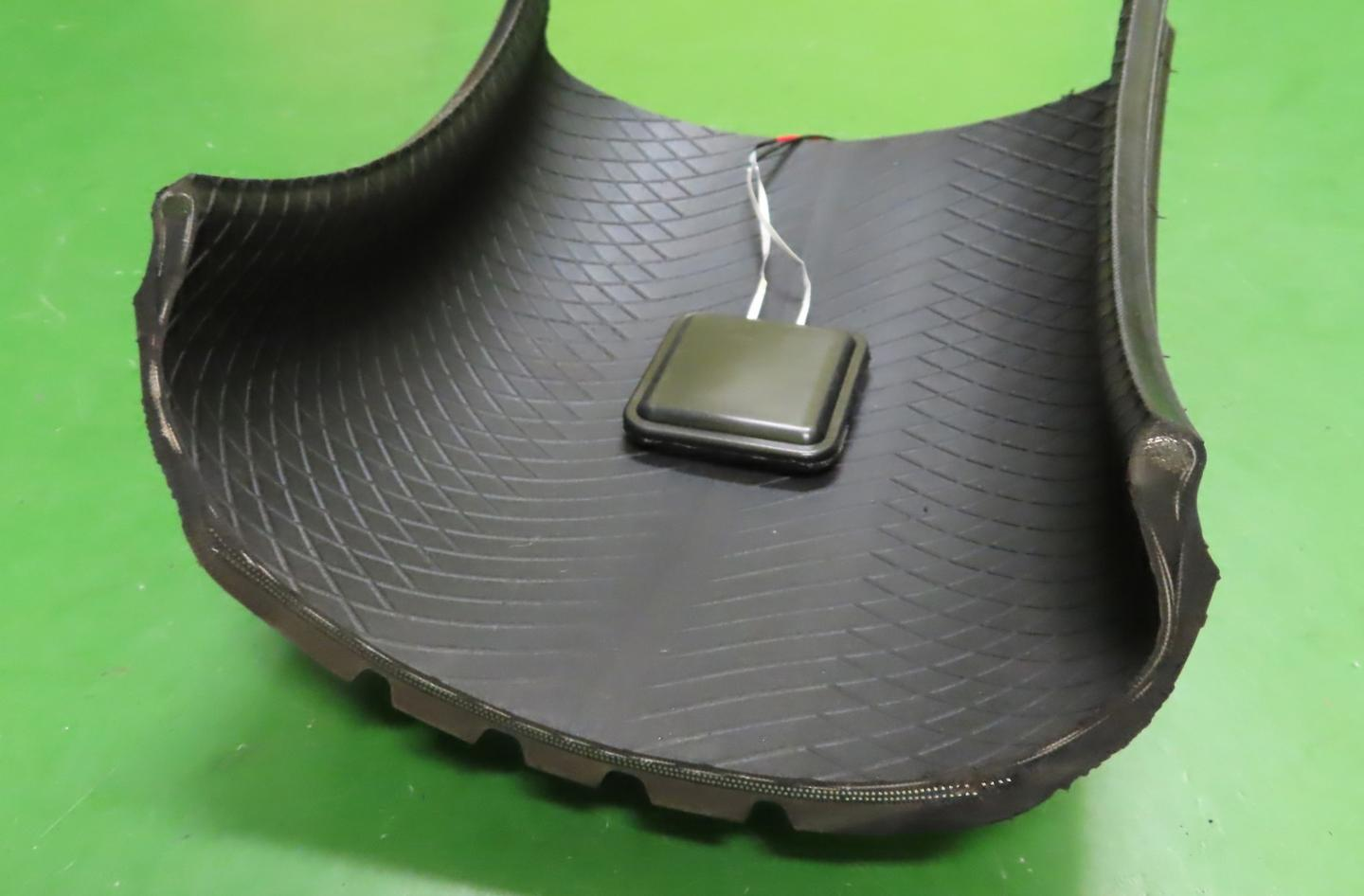 Sumimoto imagines initially its energy-harvesting device could be used to power things like tire pressure monitors
