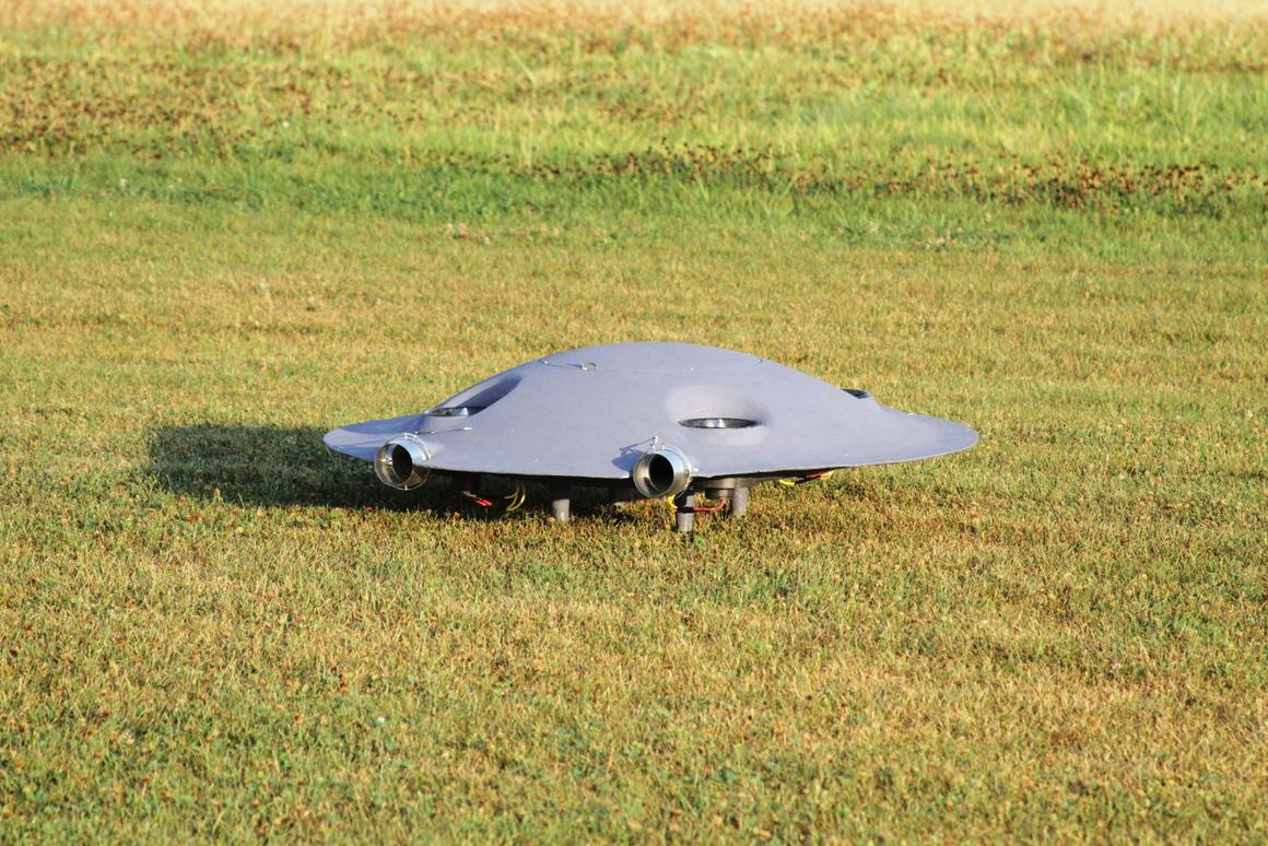 ADIFO could resurrect the idea of flying saucers, promising extremespeed, efficiency and aerialagility