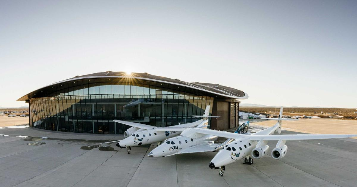 Virgin Galactic's spaceplane relocated to Spaceport America