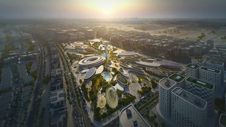Zaha Hadid Architects' has won an international competition to design a mixed-use development for the UAE