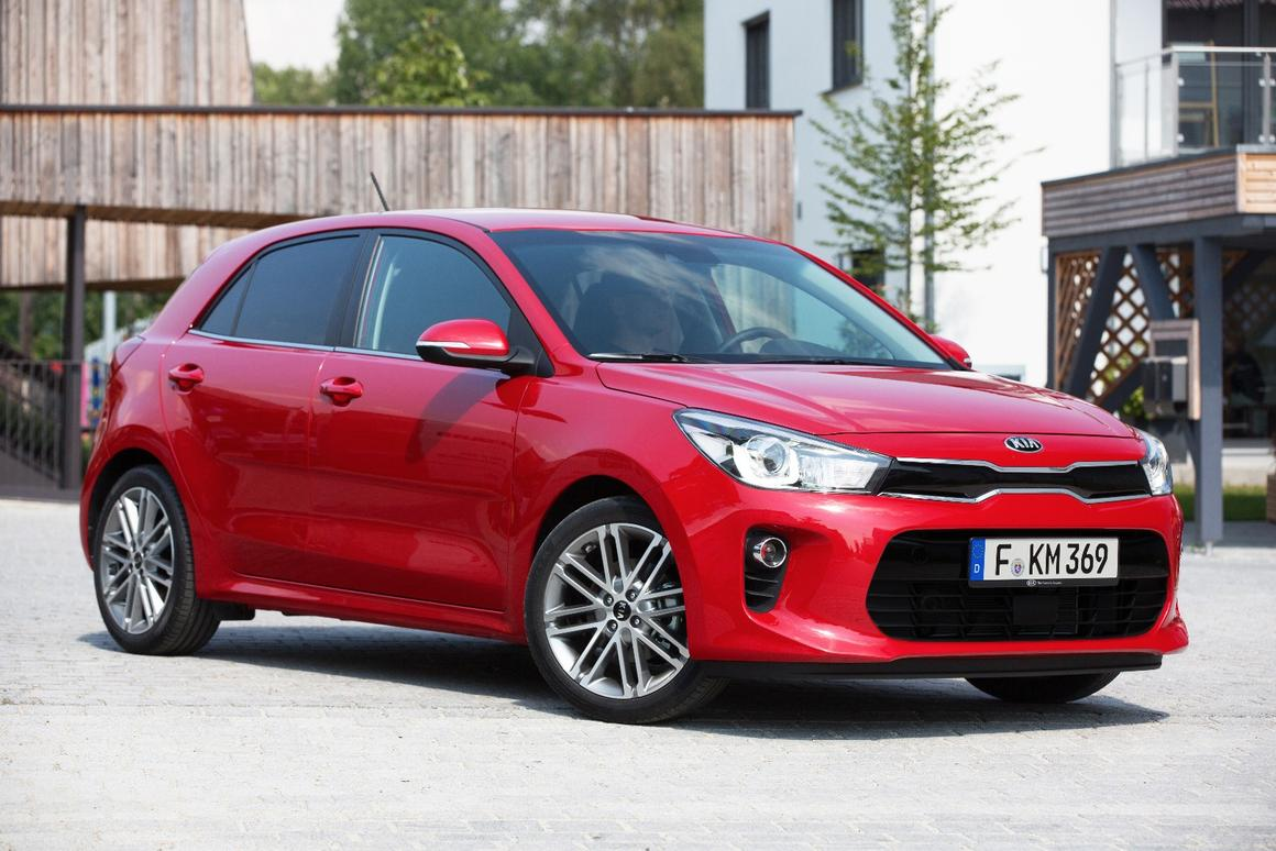 The new Kia Rio, which is yet another example of Peter Schreyer's design nous