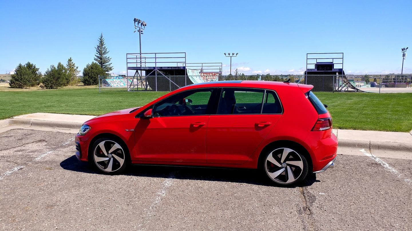 The Golf GTI has a reputation for being a well-handling street car